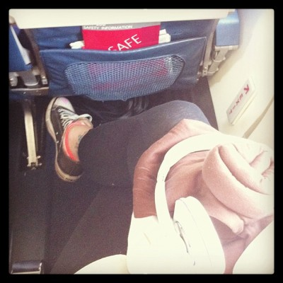 Oh exit row. All 5'9 1/2 of me really appreciates you. #travel  (at Los Angeles International Airport (LAX))