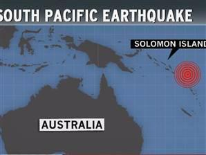 At least 5 killed as South Pacific quake triggers 3-foot tsunami (Graphic: msnbc) At least five people have been killed after a strong earthquake in the South Pacific generated a 3-foot tsunami, according to the Pacific Tsunami Warning Center and local news reports.  The U.S. Geological Survey said the quake — with a preliminary magnitude of 8.0 — struck Wednesday in the Santa Cruz Islands at a depth of about 3 miles. The Santa Cruz Islands are scarcely populated and are part of the Solomon Islands. Read the complete story.