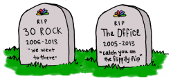 NBC 2013: The end of two comedy icons—30 Rock and The Office