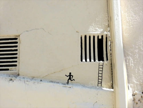 Witty Street Art Interventions by http://oakoak.canalblog.com/