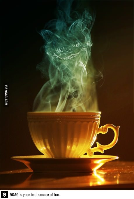 squeeface:  Cheshire cat tea cup