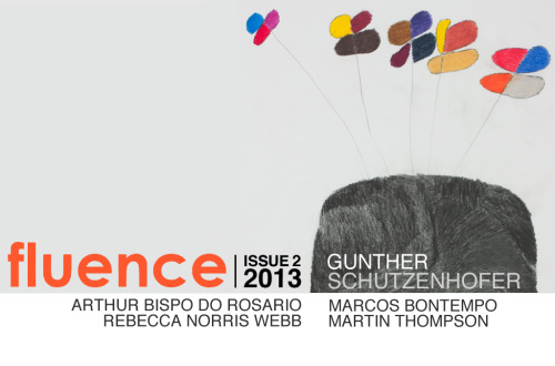Coming Soon…Fluence Issue #2, 2013: Featuring - Gunther Schützenhöfer, Arthur Bispo do Rosário, Rebecca Norris Webb, Marcos Bontempo & Martin ThompsonIn case you missed our 1st Fluence issue this year, www.riccomaresca.com/fluence-posts/Image details:Gunther SchützenhöferUntitled201229 x 20inPencil and colored pencils