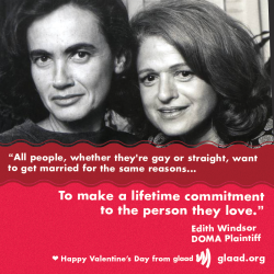 "Edith Windsor is the plaintiff in the Supreme Court case challenging the so-called ""Defense of Marriage Act."""