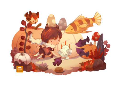 garabating:  Owl's Birthday by ~ethe