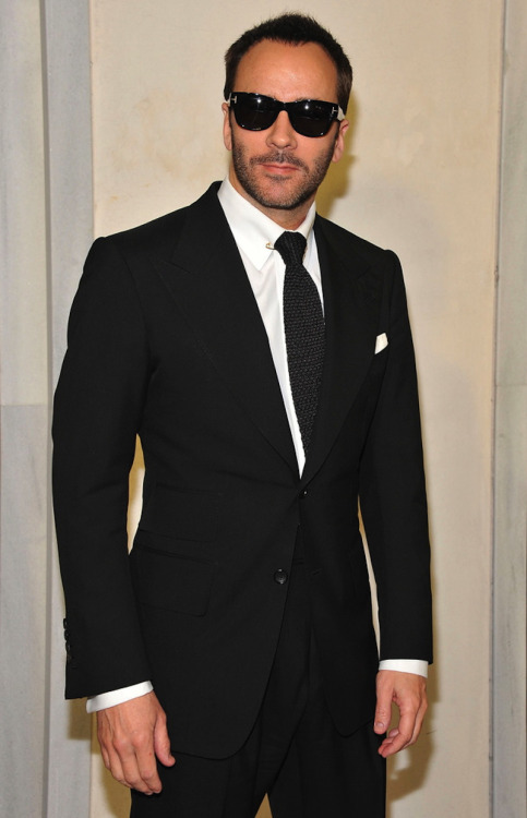 imthey:  Fashion Designer Tom Ford attends his cocktail event in support of Project Angel Food at Tom Ford on February 21, 2013 in Beverly Hills, California.