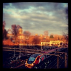 Yesterday's early morning train through Watford…