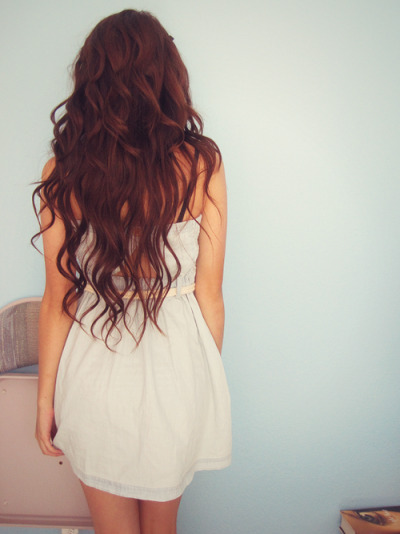 freefunnynerd:  :) #dress #hair #someday #awesome #brunette #future #lwwy