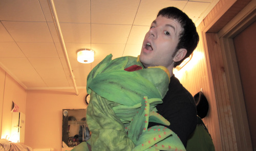 attacked by Audrey II (Pod #2)