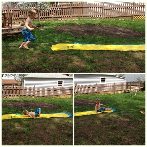 Slip and Slide.  For real. – View on Path.