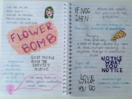 orhideas:  i found my 'cool quotes' notebook hah