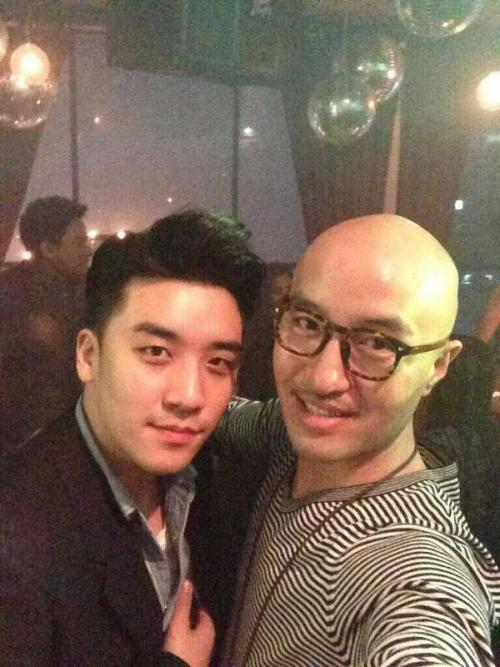 Seungri with HongSukCheon at Thailand celebrity's bday party  Credit: @ShrimpLJY