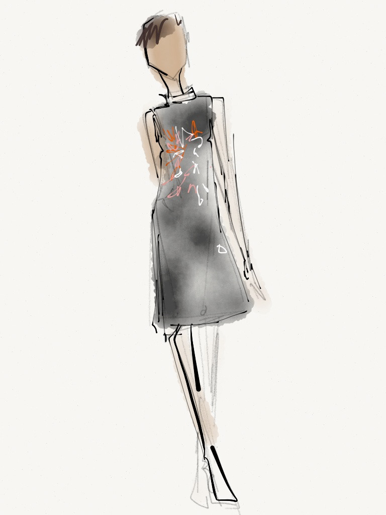 One of our digital editors will be sharing his NYFW sketchbook on luckymag.com throughout the week. Check out drawings from Rachel Comey, JBrand and Raleigh. Stay tuned for updates!