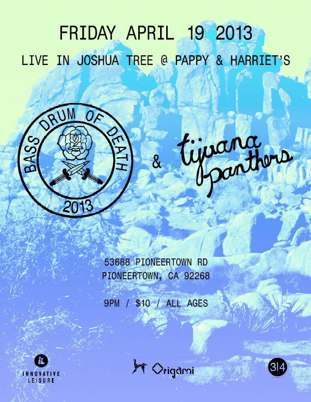 Friday 04.18 | Pappy & Harriet's $10 at Door
