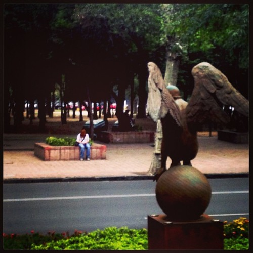 #angel #marín #reforma #art #walk #mextagram #igers
