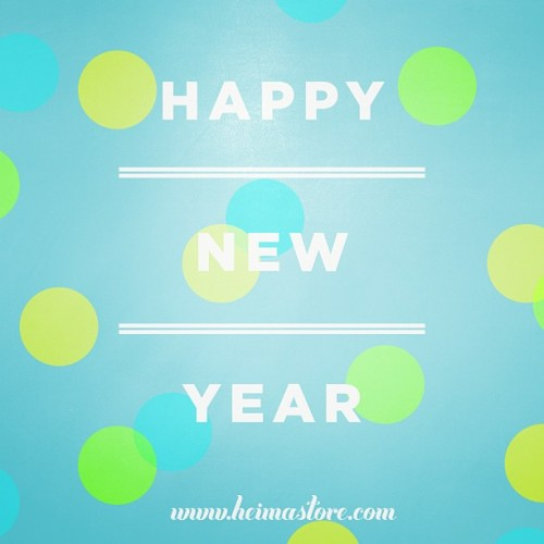 Happy New Year from Heima!
