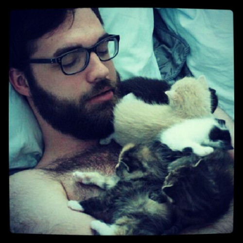 mrfantasticsarcastic:  The best way to wake up.