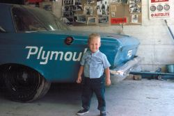 murdercycles:  Local Mopar freak Kevin Hodge got to visit Petty Enterprises a few times as a child. His father was a racing photographer. Photo courtesy Kevin Hodge & Howie Hodge