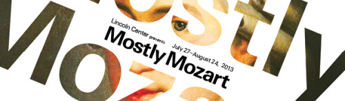 Tickets are now on sale for this summer's Mostly Mozart Festival featuring the Music Director Louis Langrée, Mostly Mozart Festival Orchestra, Emerson String Quartet, International Contemporary Ensemble, and more.Visit mostlymozart.org for more information.