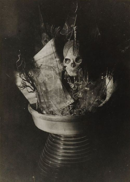 surrealist-phantoms:  Claude Cahun - Surrealist Assemblage, 1936