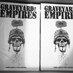 GRAVEYARD OF EMPIRE trade paperback comps from @imagecomics.  Out next week Mat 1st!!!
