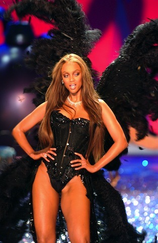 Tyra Banks for Victoria's Secret via: The Lingerie Addict