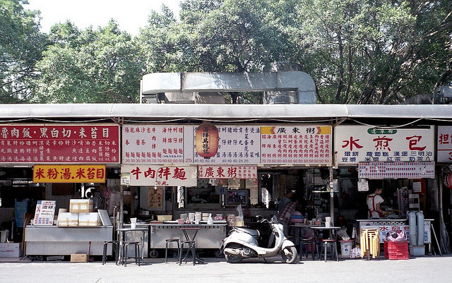 The signboard of the menu on Flickr.Olympus Trip 35, Agfa Ultracolor 100 expired 2008 (discontinue)