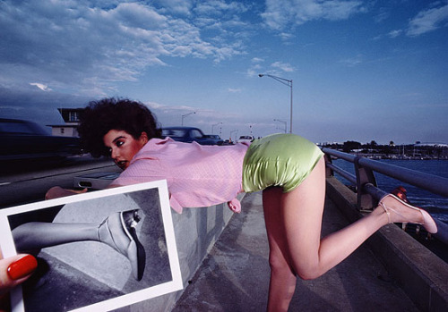 Guy Bourdin, Charles Jourdan Campaign, 1978.