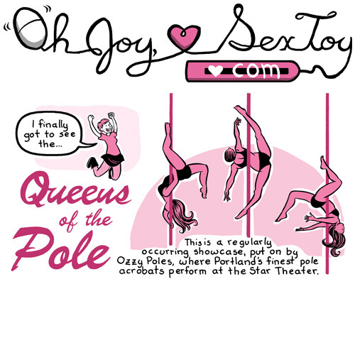 It's Tuesday, which means a new Oh Joy, Sex Toy!  This week I talk about watching the Queens of the Pole: Disney Edition showcase!