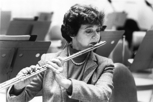fyeahflutes:  Shout-out to Doriot Dwyer, the first woman in the United States to be appointed principal flutist of a major orchestra.