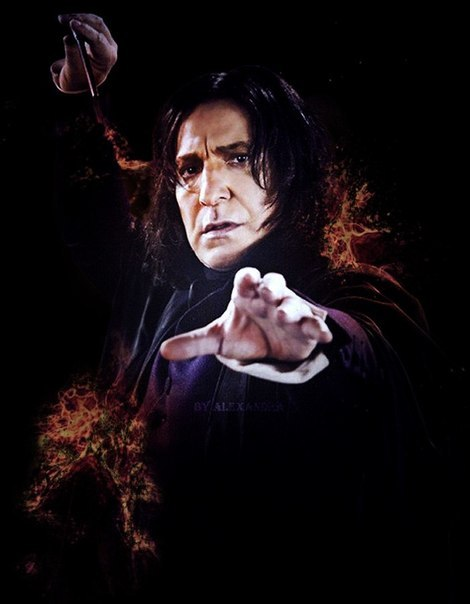 severus-snape-my-eternal-prince:  Artwork by Alexander.