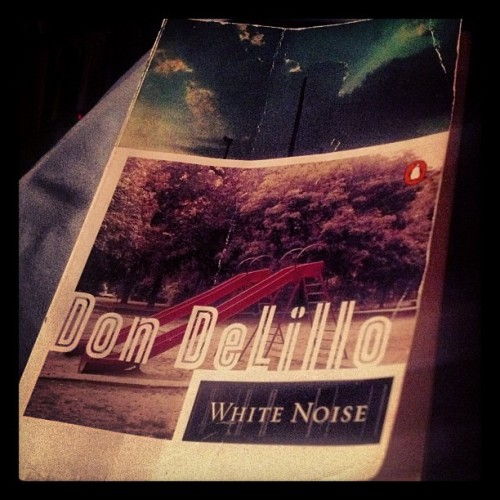 Brilliant. #whitenoise #dondelillo