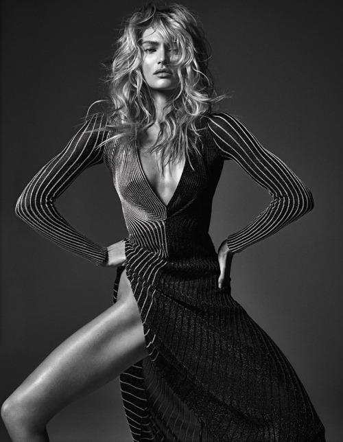 wmagazine:  Happy Birthday Candice!  Photograph by Mario Sorrenti; styled by Edward Enninful; W magazine March 2014.