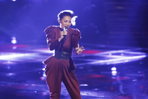 "Vote for Team Adam's Judith Hill! Online: www.nbc.com/the-voice/vote  Phone: 1-855-864-2302 iTunes: ""The Way You Make Me Feel"" http://bit.ly/10QScOX"