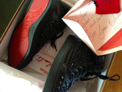 Letters from Louboutin