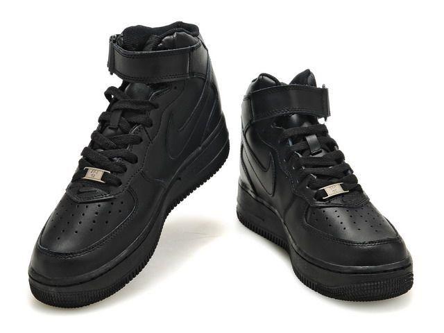air force 1 nike all black