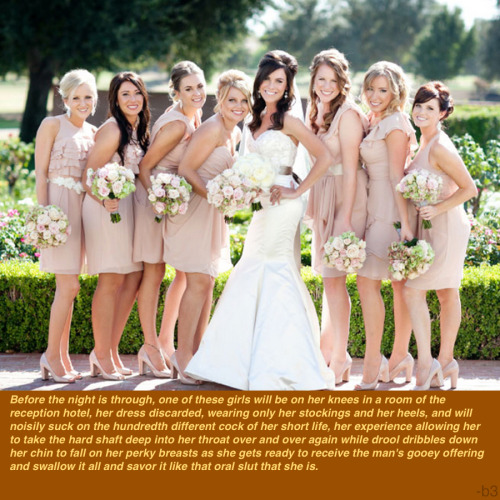 Before the Night is Through: Bridesmaids  What happens at the wedding stays at the wedding…