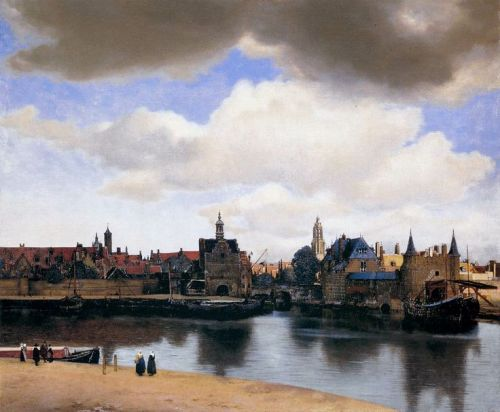 elpasha71:  View of Delft ~ Johannes Vermeer 1659-60 Located at: Mauritshuis, The Hague Netherlands