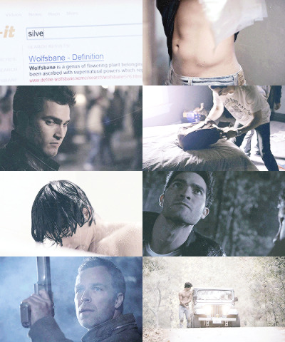"Teen Wolf picspam 1x01 ""two joggers found a body in the woods."" ""a dead body?"" ""no a body of water. yes dumbass a dead body"""