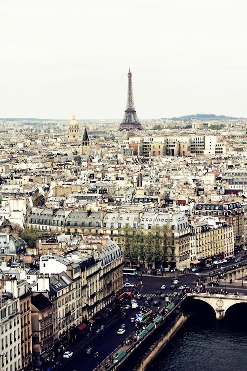 "emilanton:  ""Paris is not a city, it's a world"" – King Francois the I"