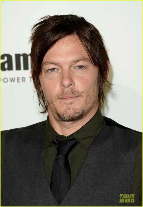 septumizedcouture:  Norman Reedus @VGA's red carpet.No shades at all but awesome eyes.  that shy little smile :3;
