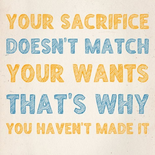 brillianceofsuccess:  It takes more than want