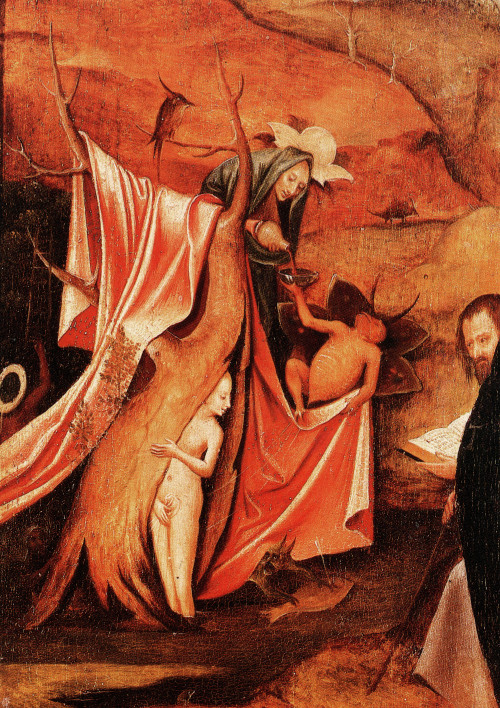 The Temptation of Saint Anthony (detail), Hieronymus Bosch, 1500