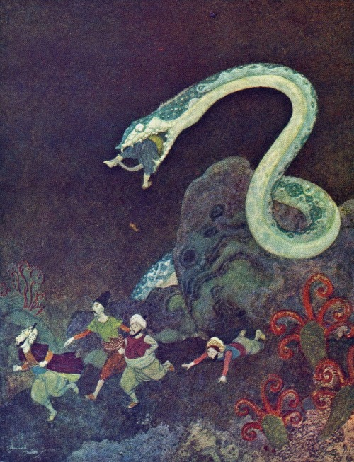 magictransistor:  Edmund Dulac, Stories from The Arabian Nights, 1907.