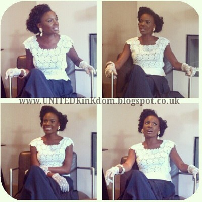 #Shingai looking absolutely beautiful at breakfast today, in her Mayfair Hotel suite. I'm still like omgosh! #Teamnatural #Naturalhair #TheNoisettes #Shingai #JustOMG