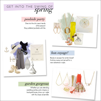 Spring style is here! Shop the trends here!