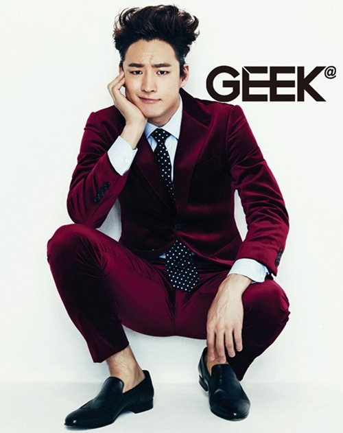 the hottest geek ! :D