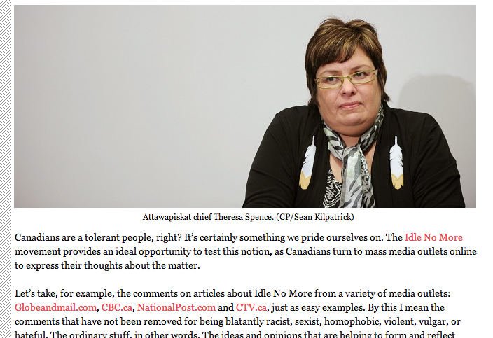 Well done Macleans.  Click on that link and read this.