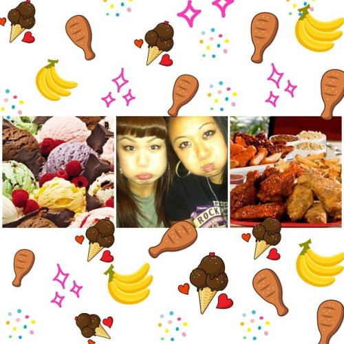 🍦🍗🍌Happy Birthday to my Nikka, @nikka_santiago 🍌🍗🍦