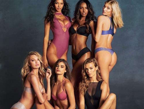 myfavoritevs:Romee, Lais, Taylor, Jasmine, Josephine Elsa