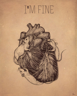 "cardiac-art:  ""I'm Fine"" by Zoe Mironova"